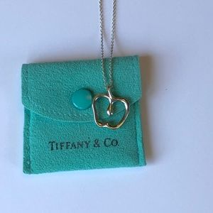 Tiffany Elsa Peretti Apple Pendant Necklace